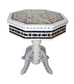 Hand Painted Tile Top Coffee Table - HP-CA022