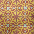 Hand painted Cement Tiles - CT054