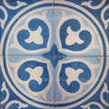 Hand Painted Cement Tile - CT056