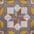 Hand Painted Cement Tile - CT058