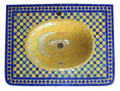 Moroccan Mosaic Sink Top MS005A