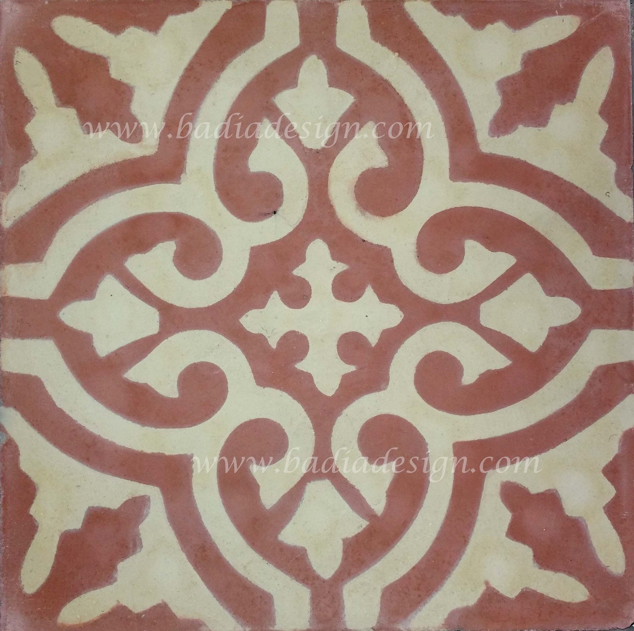 Moroccan Handmade Cement Tile From Badia Design Inc