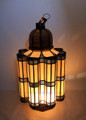 Large Brass Floor Lantern - LIG182