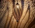 Brass Spiral Chandelier - LIG184