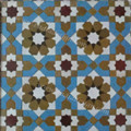 Moroccan Mosaic Floor Tile - TM036