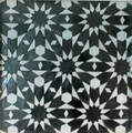 Moroccan Mosaic Hand Painted Tile - TM037