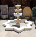 Vintage Star Shaped Marble Water Fountain - MF011