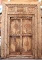 Vintage Hand Carved Wooden Door - CWD016