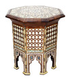 Syrian Design Inlay Side Table - MOP-ST055