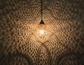 Moroccan Brass Pendant Light - LIG260