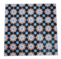 Moroccan Hand Painted Square Cement Tile - CT090