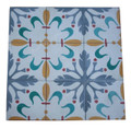 Moroccan Hand Painted Cement Tile - CT092
