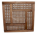 Moroccan Moucharabieh Wood Panel - WPN-004L
