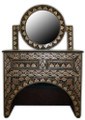 Metal and Bone 2 Drawer Vanity MB-VA001