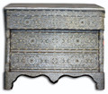 Mother of Pearl Inlay 3 Drawer Dresser MOP-DR004