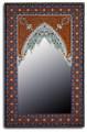 Rectangular Hand Painted Mirror M-HP001