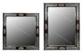 Metal and Leather Mirror - M-ML001