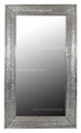 Silver Nickel Rectangular Mirror M-N001