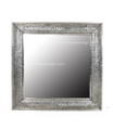 Silver Nickel Square Mirror M-N002