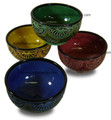 Carved Ceramic Bowls - CER-B003