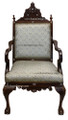 Mother of Pearl Inlay Handcrafted Chair MOP-CH010