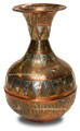 Brass and Copper Vase HD046