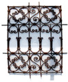 Wrought Iron Panel - IP005