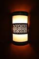 Brass Half Cylinder Wall Sconce Lighting Fixture - WL016