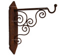 Rustic Iron Wall Mount Bracket IB001