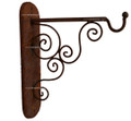 Rustic Iron Wall Mount Bracket IB002