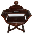 Mother of Pearl Inlay Handcrafted Chair MOP-CH011