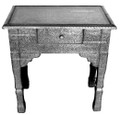 1-Drawer Nightstand with Glass Top NK-NS003