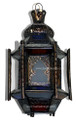 Multiple Colored Glass Lantern LG078
