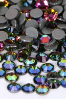 Pink/Green Mix Rhinestones