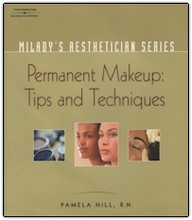 Cover of training manual, Permanent Makeup Tips and Techniques.