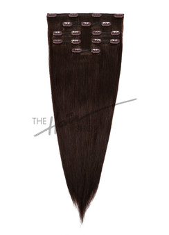 7 Piece Indian Hair Clip-In Straight 20"