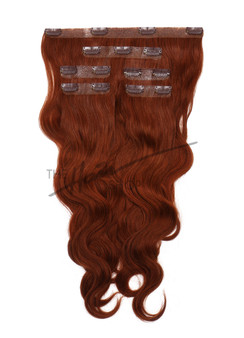 """6 Piece Clip-In Body Wave 18"""" 