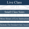 SERIES 6: Live Instruction with Complimentary Access to On-Demand Online Course ($129)
