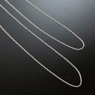 16 Inch Sterling Silver Cable Chain