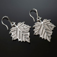 Sycamore Leaf Earrings
