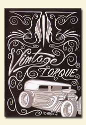 Vintage Torque Issue #2 (hot rod DVD)