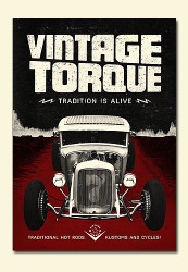 Vintage Torque Issue #7 (hot rod DVD) - NEW!!