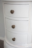 IN STOCK NOW: Three drawer side table