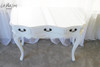 IN STOCK NOW: Three Drawer Hall Table