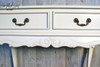 PRE ORDER : Provencal side table with crest