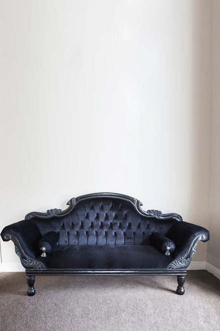pre order colonial ended chaise longue black la maison boutique