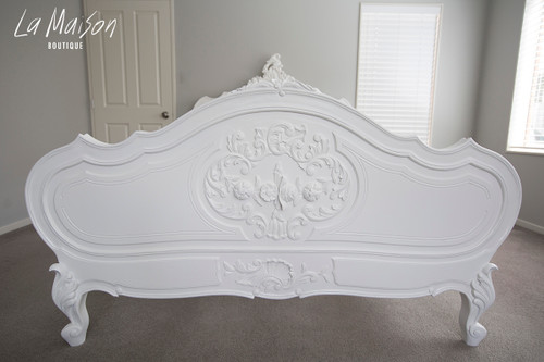 IN STOCK NOW: Louis XV - Queen size