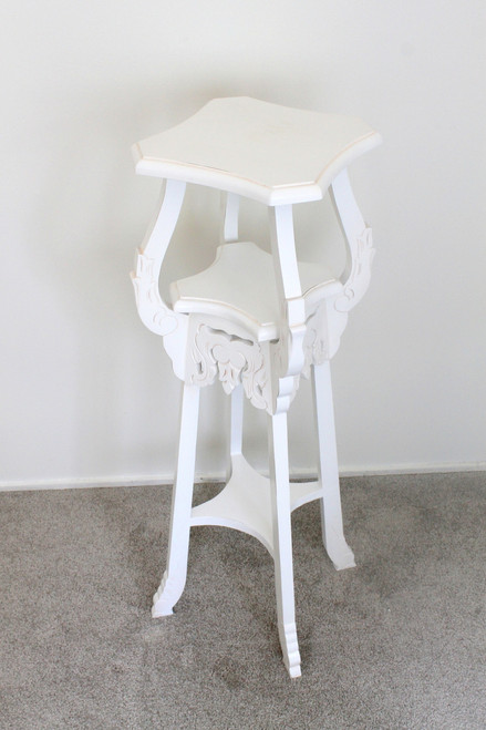 IN STOCK NOW: Carved Plantstand B