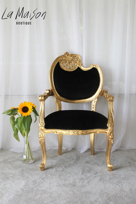IN STOCK NOW: Louis XV Scroll Arm chair