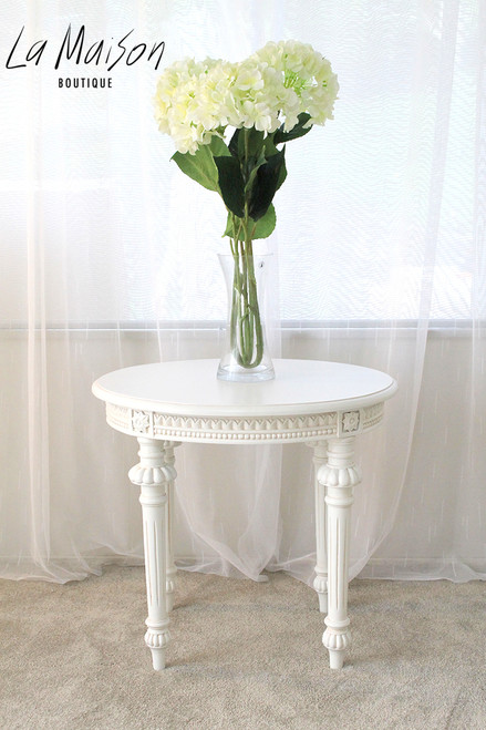 IN STOCK NOW: Roman Oval Side Table